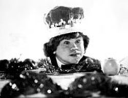 It's good to be the king: Hervé Villechaize holds court  in Forbidden Zone. See Friday.
