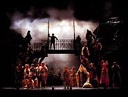 Marvelously miserable: Broadway staple Les  Misérables is one reason to love the  French. See Wednesday.