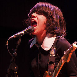 Screaming Females' Melissa Paternoster wailed at House of Blues in October.