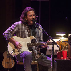 Eddie Vedder's Jones Hall set was heavy on material from the Into the Wild soundtrack.