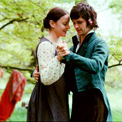 Miss Brawne (Abbie Cornish) and Mr. Keats (Ben Whishaw) make a fabulous couple.
