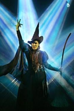 Elphaba (Stephanie J. Block) was once noble.