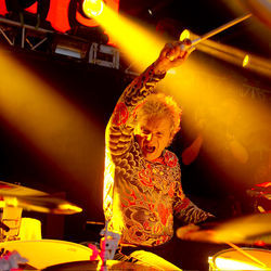 Aerosmith's concerts are more spontaneous than people may realize, says drummer Joey Kramer.