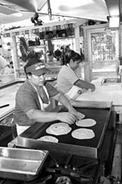Visit Laredo Taqueria at breakfast or lunch, when the  tortillas are fresh off the griddle.