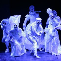 Extraneous: A Christmas Carol&#039;s dancing ghosts.