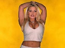 Hope for some HLA from wrestler Trish Stratus.