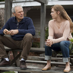Clint Eastwood and Amy Adams explore the father-daughter sports bond.