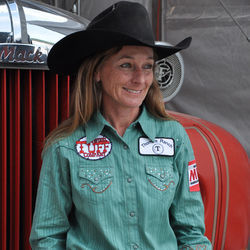 Jill Moody of Letcher, South Dakota, bested a barrel-racing record that had lasted more than 25 years. She also beat cervical cancer.