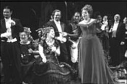 It's all fun and games until somebody dies of consumption. Renée Fleming stars in La Traviata.