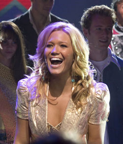 Mandy Moore's character is as eager to exploit her Iraq-war-injured boyfriend as she is to mimic Christina Aguilera.