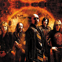Scratched, bruised and hell-bent: Judas Priest.