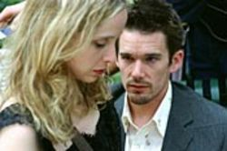 Celine (Julie Delpy) and Jesse (Ethan Hawke) talk. And talk. And talk.