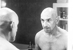 The anti-Gandhi: Ben Kingsley summons up his inner psychotic to portray the most horrifying character of his storied career.