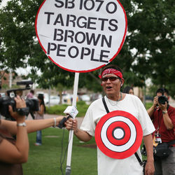 Not everyone in Arizona is in favor of the state law that calls for police officers to ascertain a person's ­immigration status whenever they stop someone.