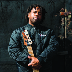 Bass is the place: Victor Wooten explores the secrets of Palmystery with drummer J.D. Blair.