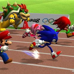 Mario and Sonic get shut out.