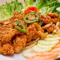 Vietnamese-style deep-fried rabbit is only one of the delightful surprises on the menu at Thanh Phuong.