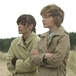 All grown up: Ruth and Kathy (Keira Knightley and Carey Mulligan) as adults.