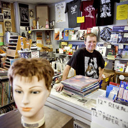 Vinal Edge owner Chuck Roast started selling records at punk shows in the '80s.
