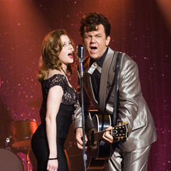 Walk Hard (with Jenna Fischer and John C. Reilly) flounders.