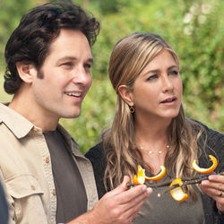 Gut-busting funny: Wanderlust, with Paul Rudd and Jennifer Aniston.