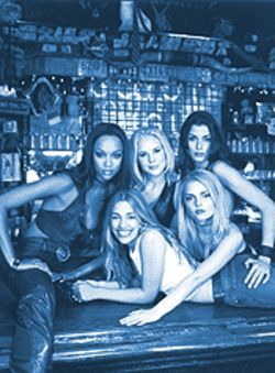 Lowering the bar: The girls of Coyote Ugly have all the character of flat beer.
