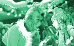 You're a mean one, Mr. Grinch? Not in Ron Howard's depiction, starring a paternal Jim Carrey and Taylor Momsen as Cindy Lou Who.