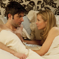 The plan is for Jason and Julie (Adam Scott and Jennifer Westfeldt) to sleep together just once.