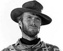 If looks could kill: Clint Eastwood as the Man with No  Name.