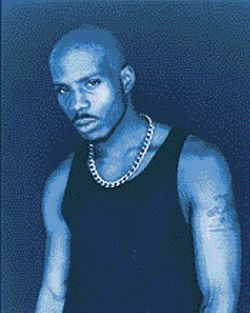 DMX is tough because he&#039;s bald.