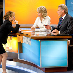Rachel McAdams (left, with Diane Keaton and Harrison Ford) gives a real star turn here.