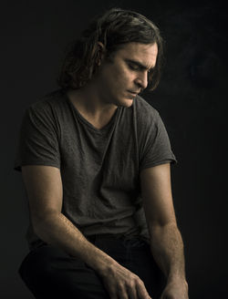Joaquin Phoenix is lovelorn in Her.