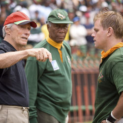 Clint Eastwood (with Morgan Freeman and Matt Damon) is known for working quickly and efficiently.