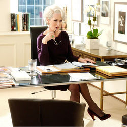 Beneath the glamtastic facade of The Devil Wears Prada lurked a villain who was, in truth, The Hero, played by Meryl Streep.
