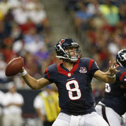 Any hopes of bringing a Super Bowl championship to Houston hinge on the health of quarterback Matt Schaub.