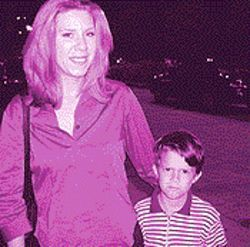 Mindy and her son Matthew.