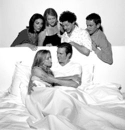 This is the cast of Coupling that&#039;s beloved among its fans at the moment. Next year, these people will be replaced by total strangers--ugly Americans all, yuck.