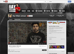 Ray William Johnson announced he was no longer part of Maker Studios in a series of angry tweets.