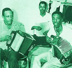 From left to right: Robert Clemon, Clifton Edmond and Albert Chevalier were zydeco pioneers in Houston.